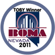 BOMA Toby 2011 Award Winner